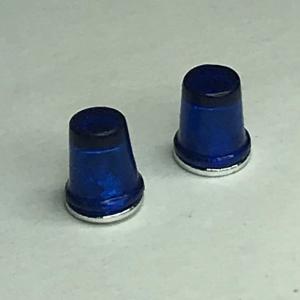 Комплект из 2 проблесковых маяков FER DDR синего цвета 1/24