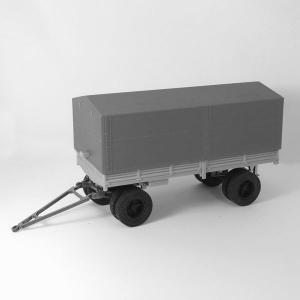 Шасси прицепа для КАМАЗ-5320