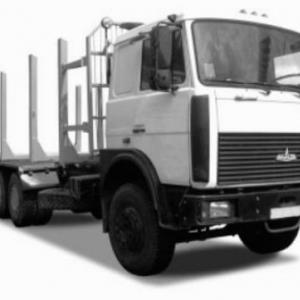 Надстройка сортиментовоз на МАЗ-6303-026
