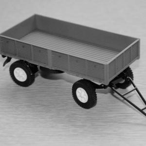 Сборная модель прицепа МАЗ-886