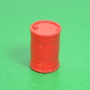Бочка 200 л. красная (пластик)