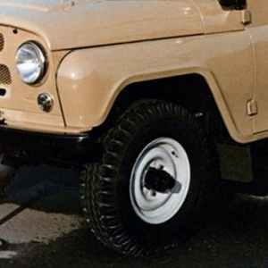 Диски УАЗ-452, УАЗ-469 R15 с резиной Я-245 под оси