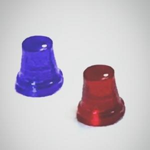 Набор микс из 5 проблесковых маячков FER DDR Ruhla (М300)