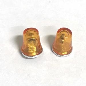 Комплект из 2 проблесковых оранжевых маяков FER DDR 1/24