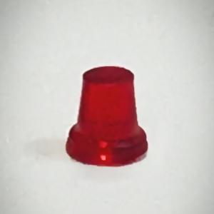 Набор из 5 красных проблесковых маячков FER DDR Ruhla (М300)