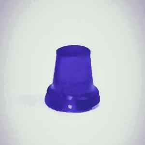 Набор из 5 синих проблесковых маячков FER DDR Ruhla (М300)