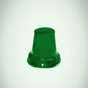 Набор из 5 зеленых проблесковых маяков FER DDR Ruhla (M300)