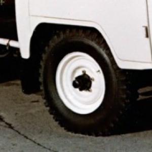 Диски с резиной для УАЗ-469, 452