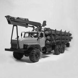 Надстройка сортиментовоз для УРАЛ-4320-0911 + КМУ вариант2