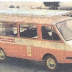 ТрансКИТ РАФ-2910 Солнечный электромобиль
