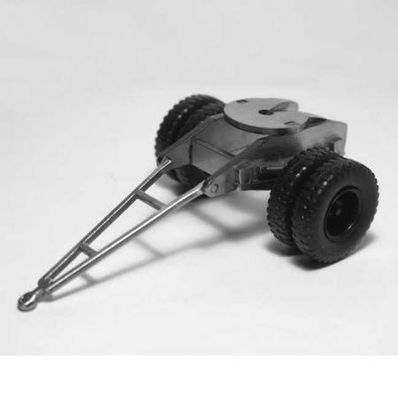 Подкатная тележка для прицепа тяжеловоза МАЗ-5215