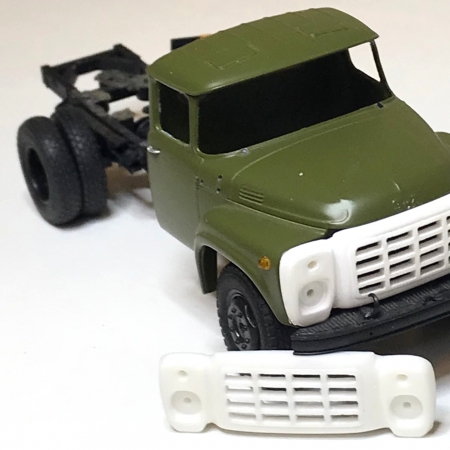Новинка! Решетка ЗИЛ-130 рестайлинг 1972-1973, ЗИЛ-130ГУ