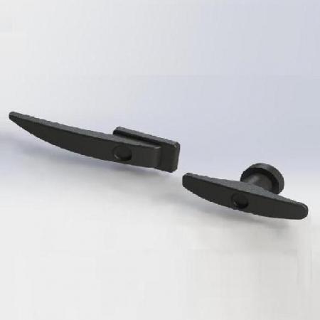 Ручки УАЗ-452, УАЗ-3303 черные