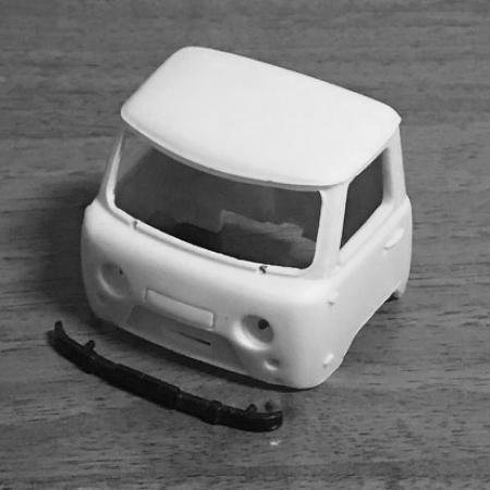 Кабина УАЗ-452Д, УАЗ-3303 под IST/Dea